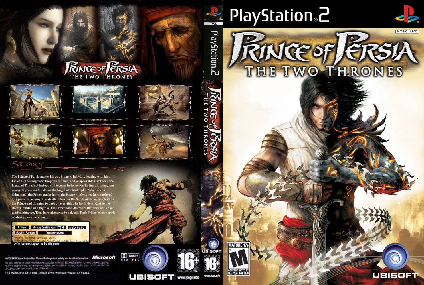 [Aporte]Prince Of PersiaThe Two Thrones[Multi5][PAL/NTSC][PL
