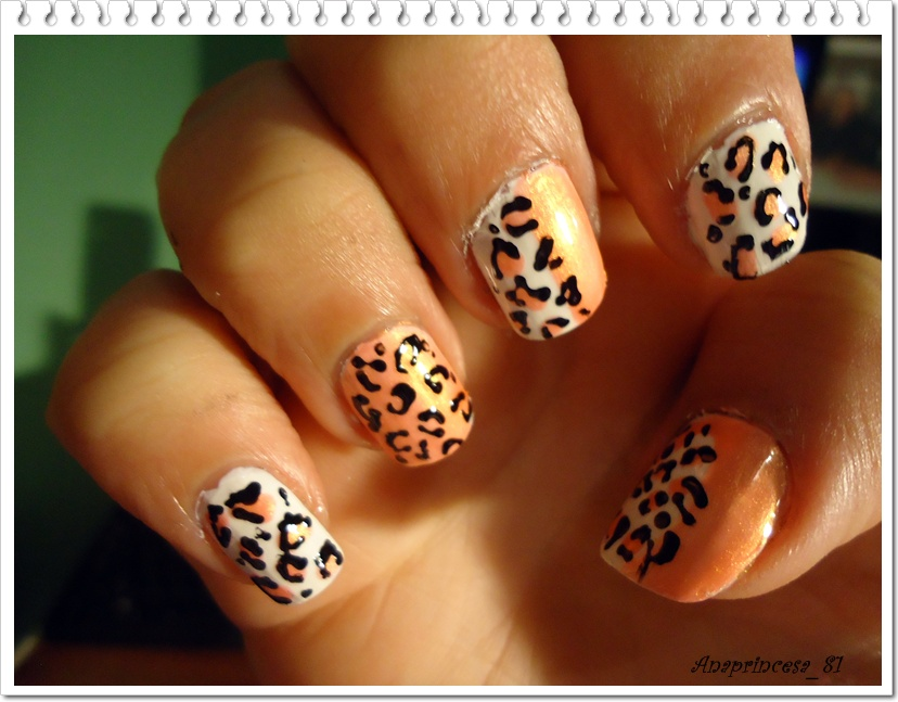 Decoración de uñas tutoriales (animal print )