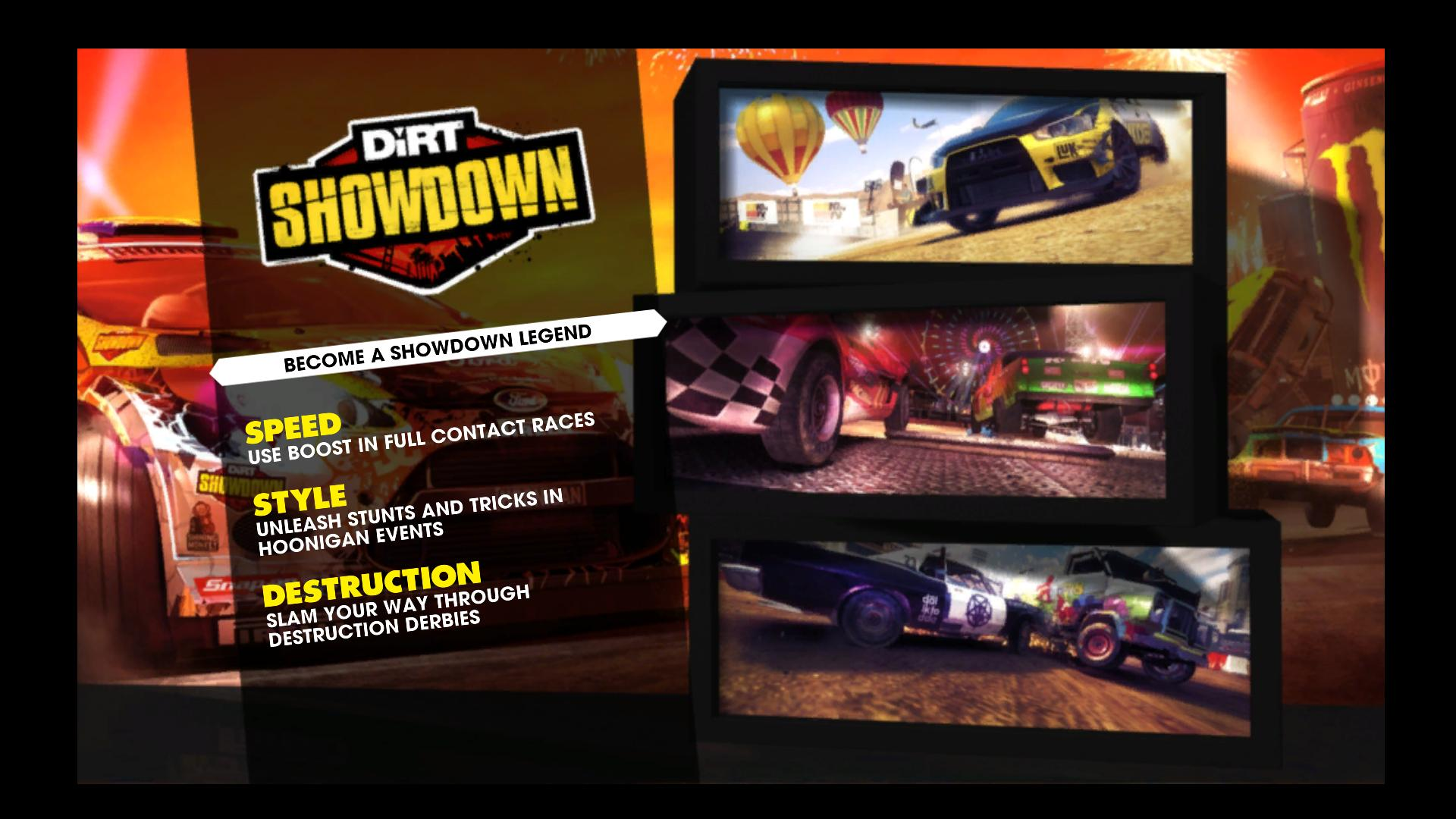 [Aporte] Imagenes de Demo y Requisitos de Dirt Showdown