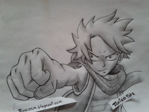 [Expo] Dibujos de Fairy Tail