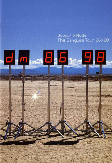 Depeche Mode - Fotos del The Singles Tour (1998)