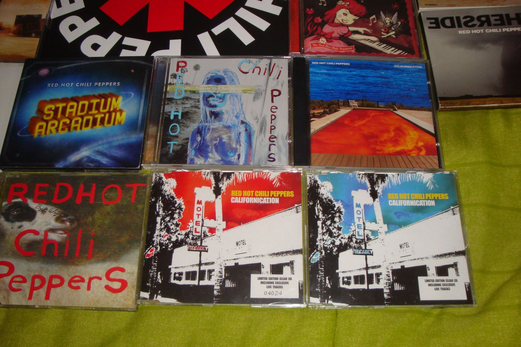 [Off Topic] Les presento mi coleccion RHCP