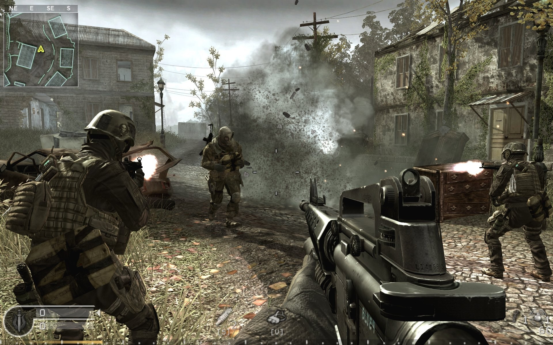 Call of Duty 4 Modern Warfare рисунок 3.