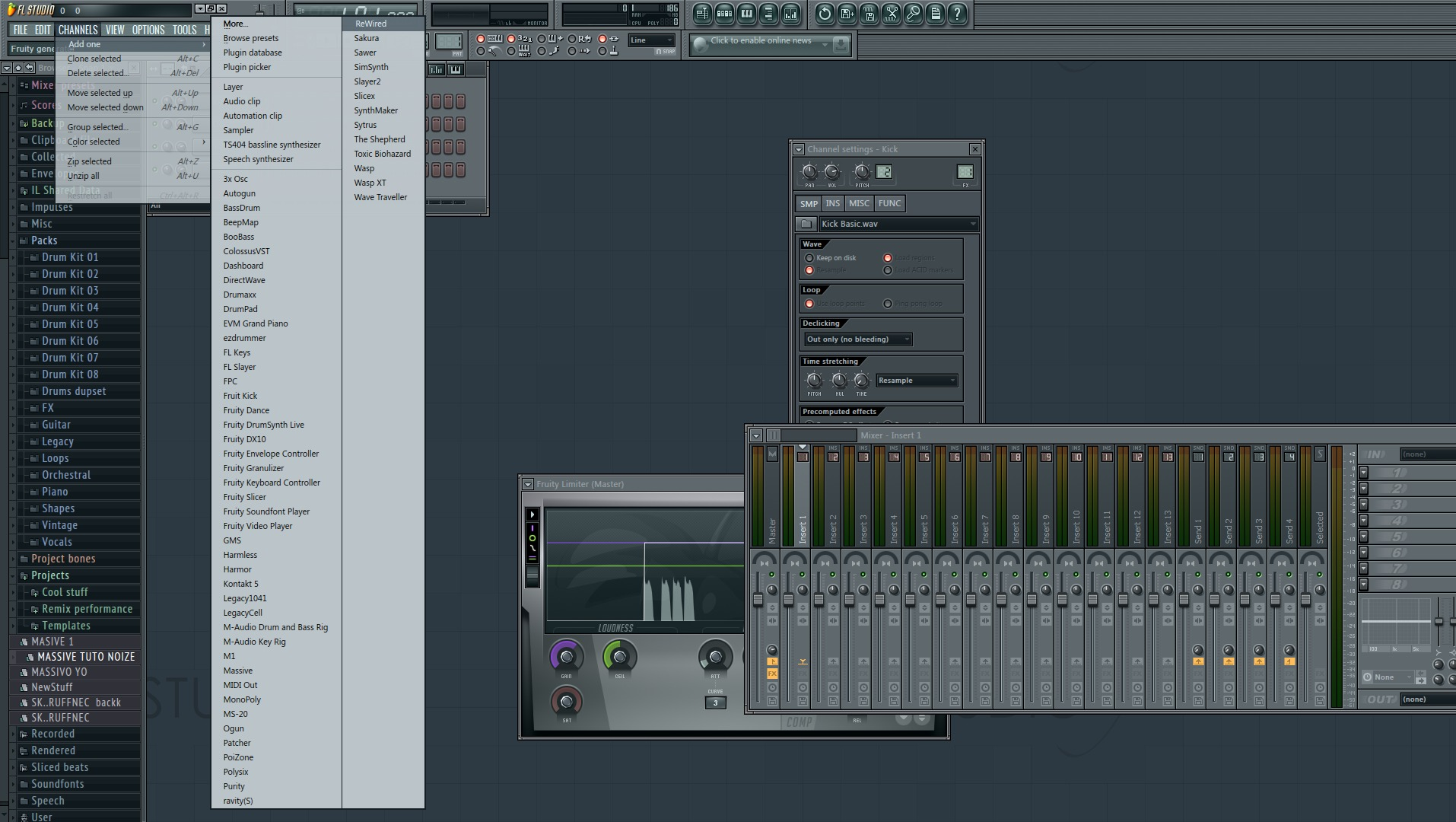 Tutorial Rewire Reason con FL Studio