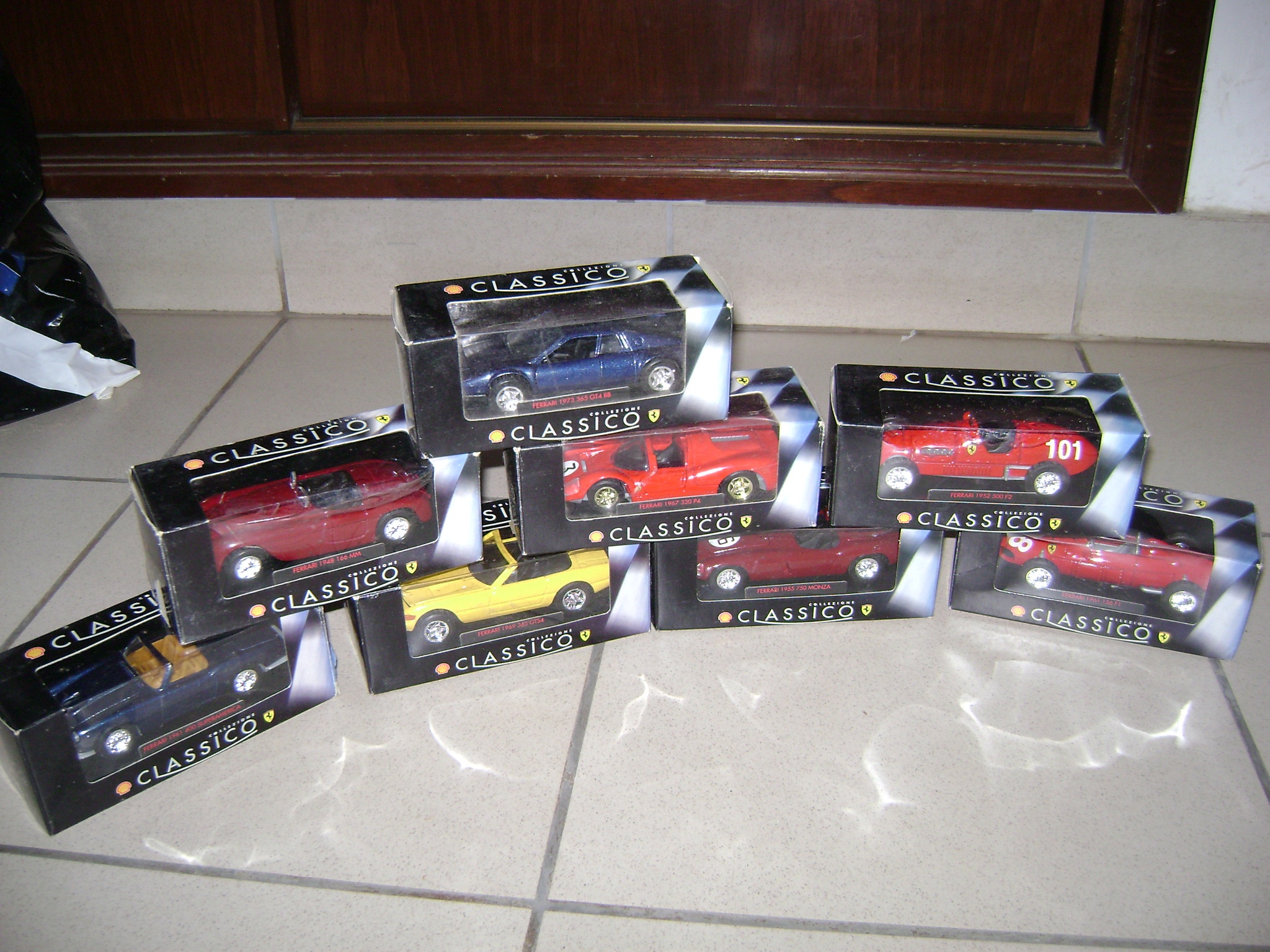 Mi coleccion de autos Ferrari de Shell