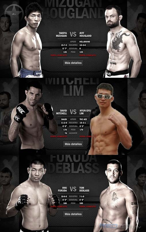 ufc rich franklin vs cung lee