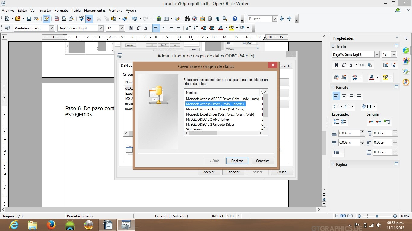 how to add ms access driver in odbc