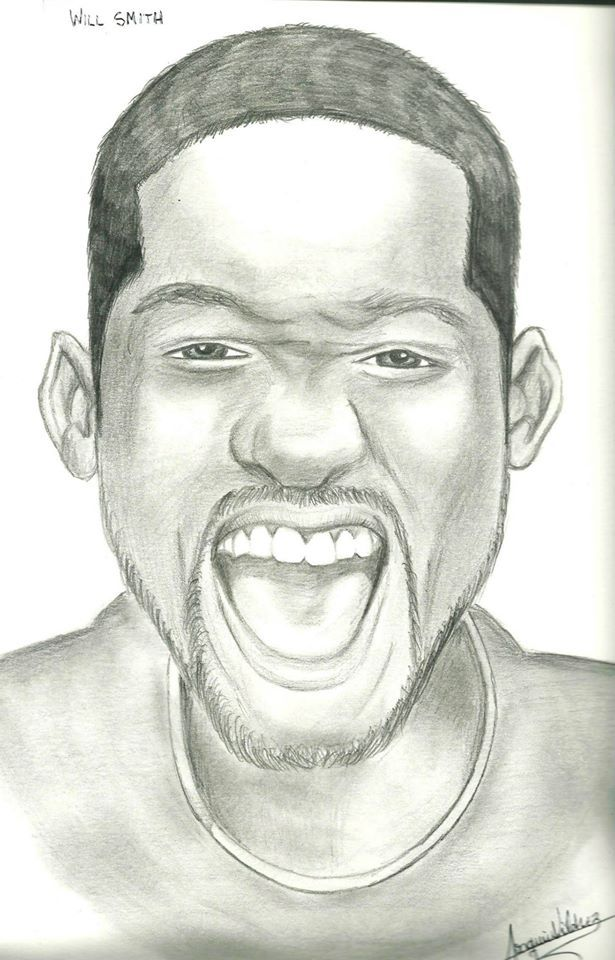 Mi dibujo de Will Smith