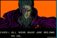 """All your base are belong tu us"" - Zero Wing  #frasesDeVideoJuegos"