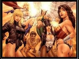 Chicas comics DC y Marvel