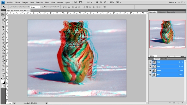 [Tutorial] Efecto 3D con photoshop