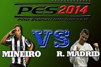 Mineiro vs Real Madrid (6 a 0) PES 2014   http://www.taringa.net/posts/videos/17726212/Mineiro-vs-Real-Madrid-6-a-0-PES-2014.htm...