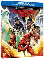 Portada de Justice League: The Flashpoint Paradox, 30 de Julio!