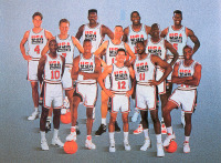 El Peor equipo de Basquet de la Historia (1992) ^^  Charles Barkley Larry Bird Clyde Drexler Patrick Ewing Magic Johnson Michael...