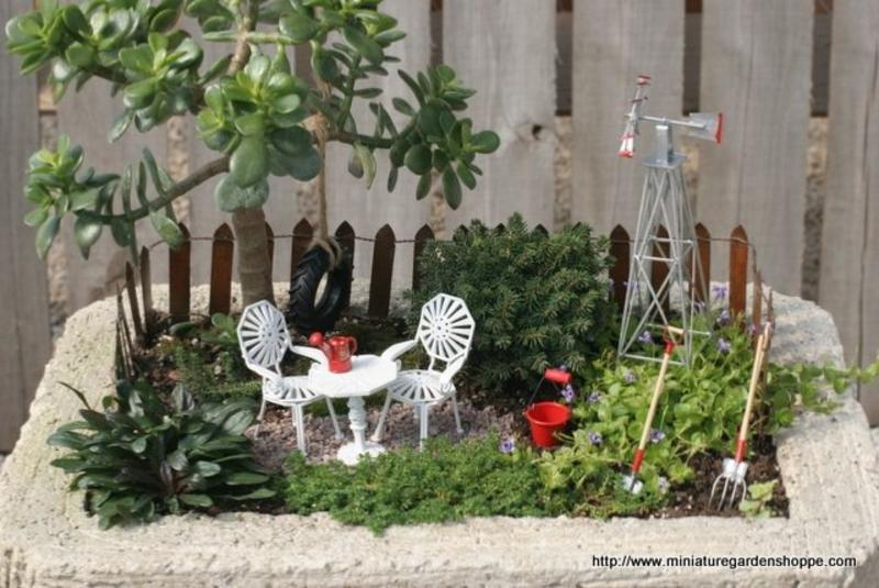 mini jardines en macetas increibles taringa. Black Bedroom Furniture Sets. Home Design Ideas